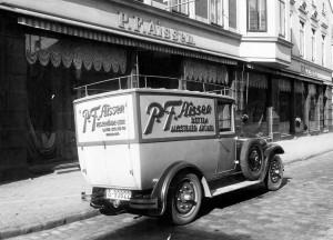 Der Firmenwagen 1915